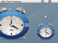 Icons for an in-house time-tracking app