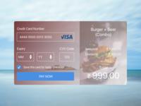 DailyUI - #002 Credit Card Checkout