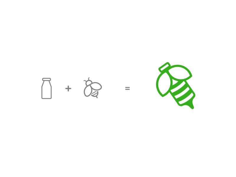 Spring Bee Logo Concept