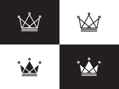 Crown crown icon branding brand stroke logo logomark mark monarchy king