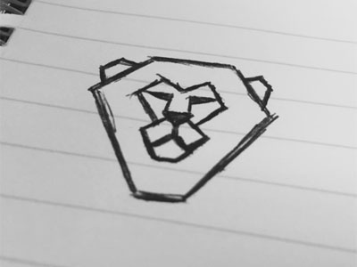 Lion Sketch sketch lion icon illustration cat line drawing