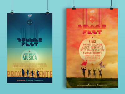 Poster Design Summer Fest