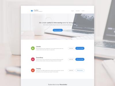 Introducing PluginMate useful shop buy page landing web website app tool plugin extension photoshop