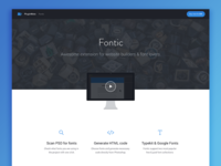 Fontic - Easily include fonts from Photoshop on the web!