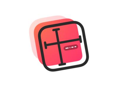 PixelSnap icon logo distance dimensions measure menubar app macos mac icon
