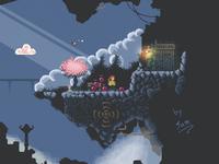 pixel art game concept survey