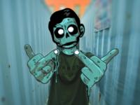 Zomboy Grime Art!