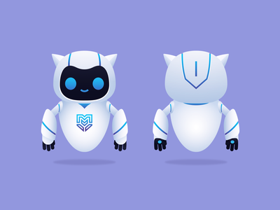 The Coco Robot robot character design vector illustration