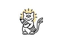 Enlightened cat