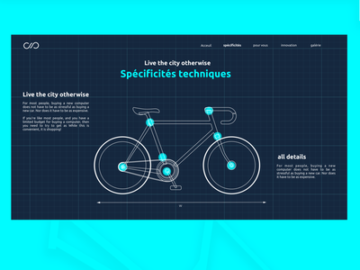 The Cycle ux design ui bicycle