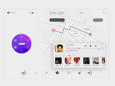 Tesla Concept voice assistant tesla ux ui