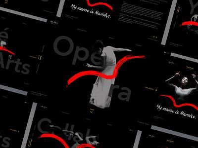 Namiko Portfolio Design opera dancing ux ui