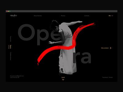 Namiko Portfolio art opera design ui ux