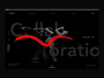 Namiko Portfolio dancing ux design ui