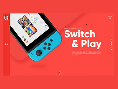Nintendo Switch Redesign nintendo switch design ux ui principleapp