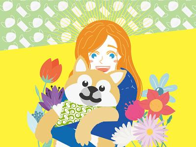 For Little Li illustration flat