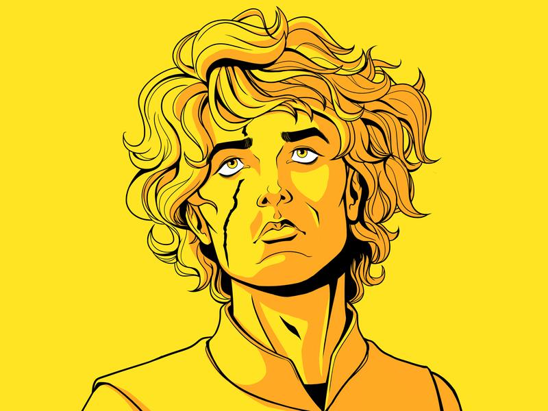 Tyrion Lannister game of thrones targaryen stark tyrion lannister tyrion lannister got character design 90s art art direction 80s design panama illustration