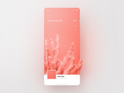 Pantone – Living Coral color of the year color coral creamy ux ui pink living coral pantone app