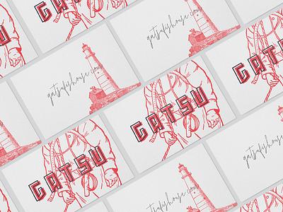 Gatsu | Business Cards japanese business card design cards business cards gatsu