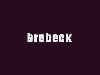 Brubeck note music logo design logo personal project composer pianis jazz brubeck
