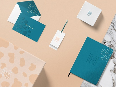 HALLA stationery