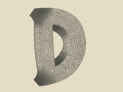 D by Camille Palu via dribbble