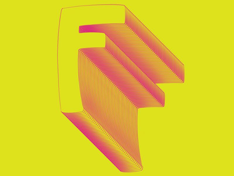 #Typehue Week 6: F lettering