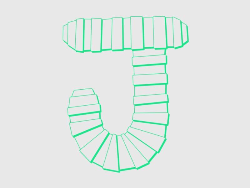 #Typehue Week 10: J lettering hand drawn
