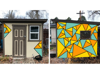 Shed Mural Concept