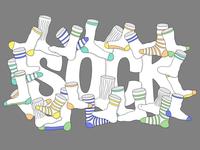 Sock mural concept
