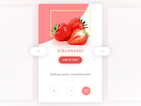 Strawberry UI