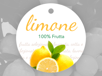 Label lemon jam food fruit graphic design jam lemon packaging label