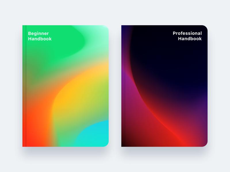 Handbooks vector wallpaper background handbook book adobe illustrator mesh gradient