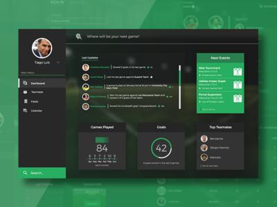 Dashboard Mockup | Desktop Version desktop webdesign ui ux dashboard