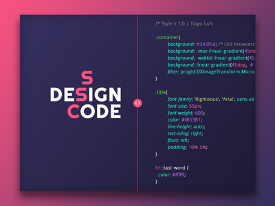 Design/Code Rebound coding front-end css design code