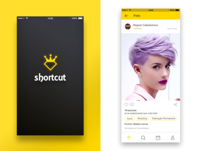 Shortcut - Mobile App - Full Project android app ux ui mobile