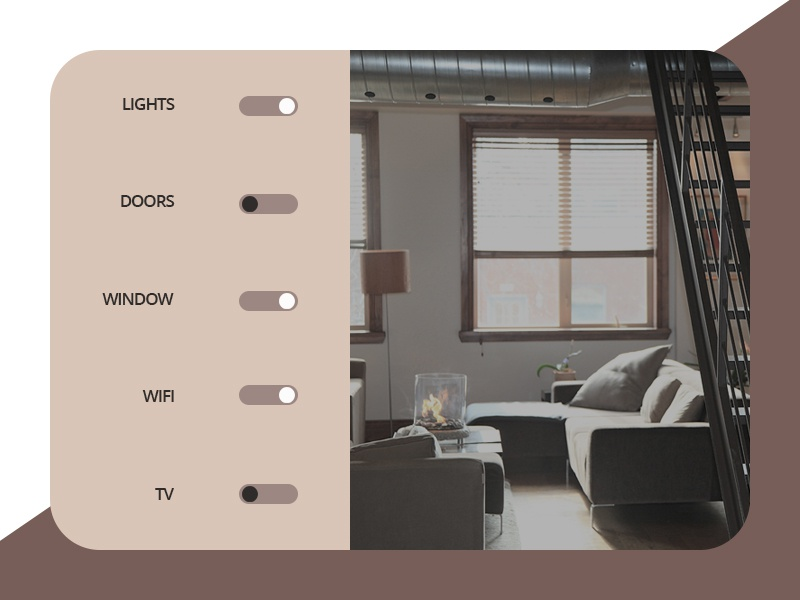 Daily Ui #021 - Home Monitoring Dashboard dashboard monitoring home designer ux ui design interection dailyui 021