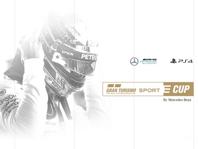 GT Sport E Cup dribbble best shot dribbble art direction playstation 4 play game sport gt gran turismo petronas amg sony ps4 mercedes-benz