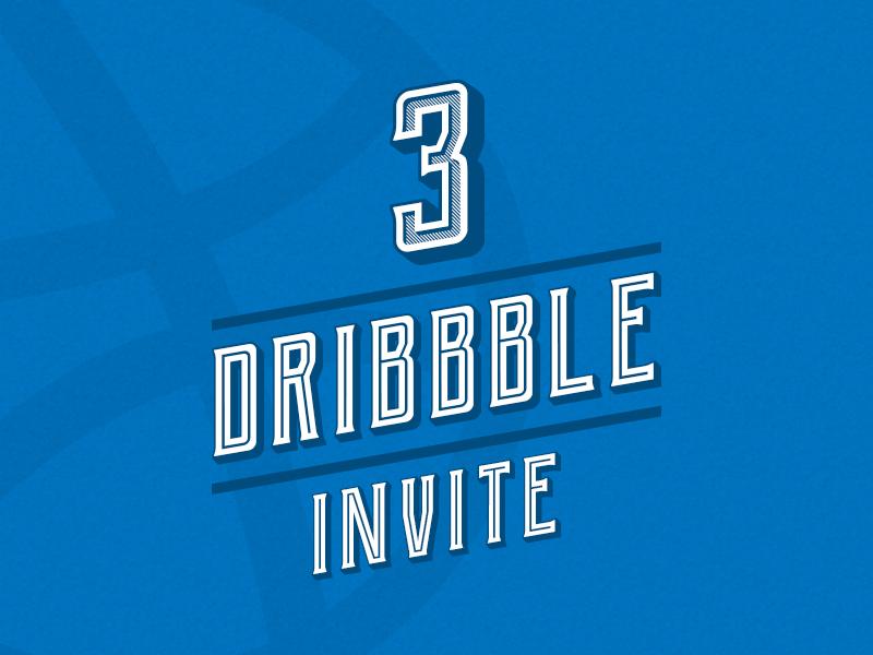 Dribbble invite design illustration dribbble app font lettering players player shot follow comunity dribbble best shot dribbble invite3 invites invite
