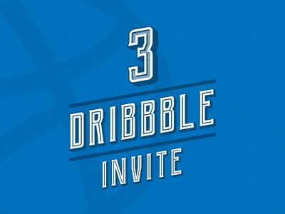 Dribbble invite design illustration dribbble app font lettering players player shot follow comunity dribbble best shot dribbble invite3 invites invite