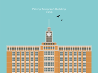 Peking Telegraph Building_1956
