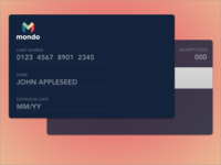 Credit Card Checkout - DailyUI - 002
