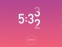 Countdown Timer - DailyUI - 013