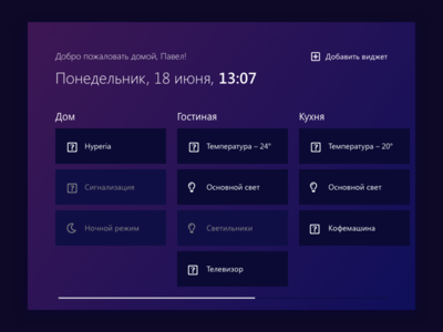Home Monitoring / Daily UI 021