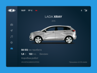 Car Interface / Daily UI 034