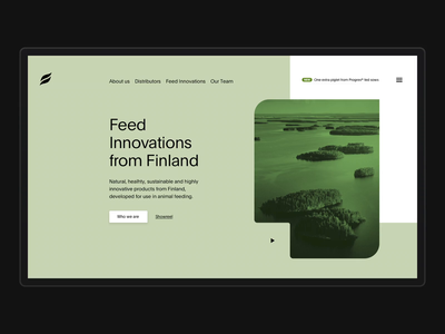 Feed Innovations animals animal illustration webdesign hero clean minimal web flat ui