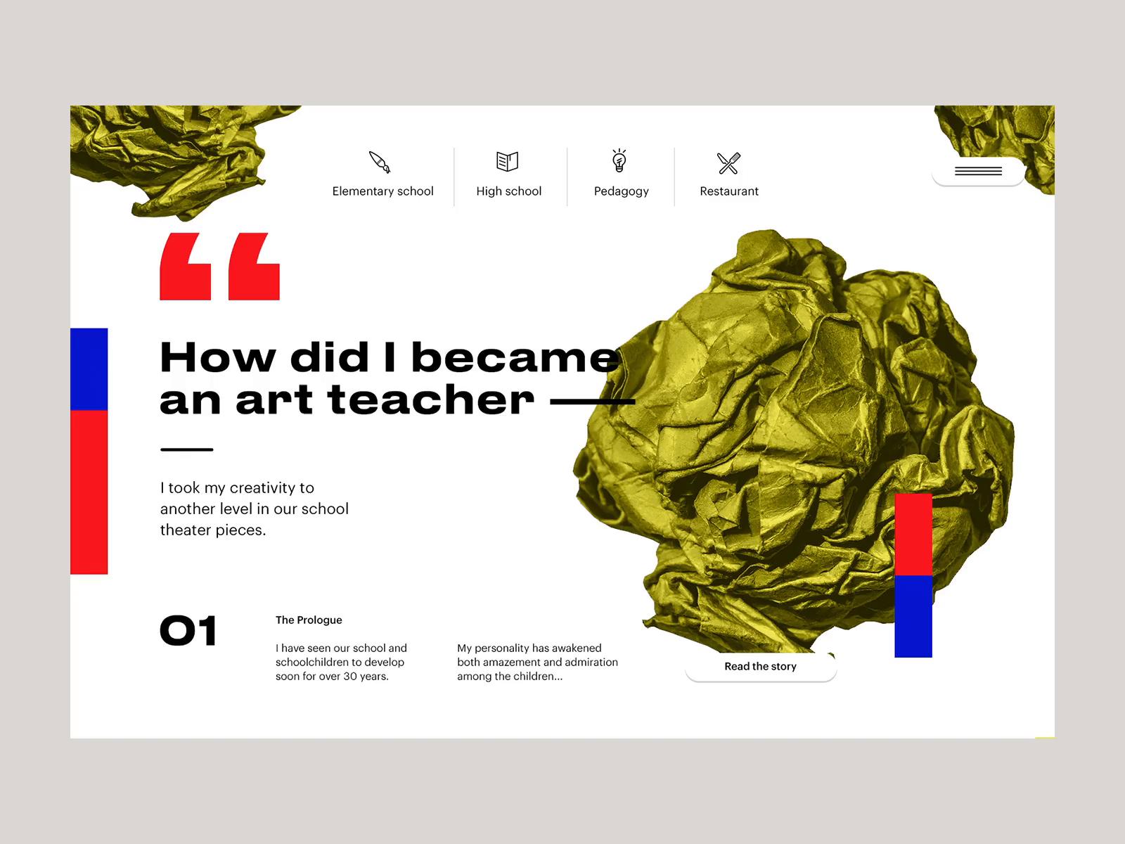 Joonasy art school design story