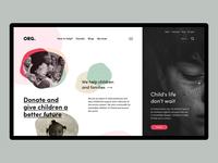 Children's Charity Webpage