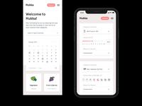 Hukka - Food Waste App Mobile Views