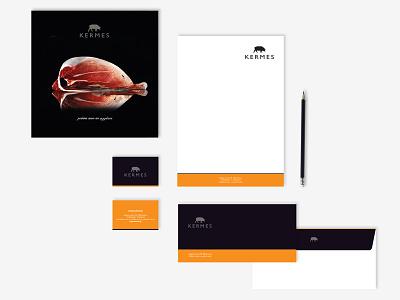 Kermes // Visual Identity brochure design stationary branding corporate identity graphic design